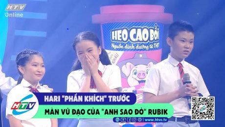 """Xem Show CLIP HÀI Hari """"phấn khích"""" trước màn vũ đạo của """"anh sao đỏ"""" Rubik HD Online."""